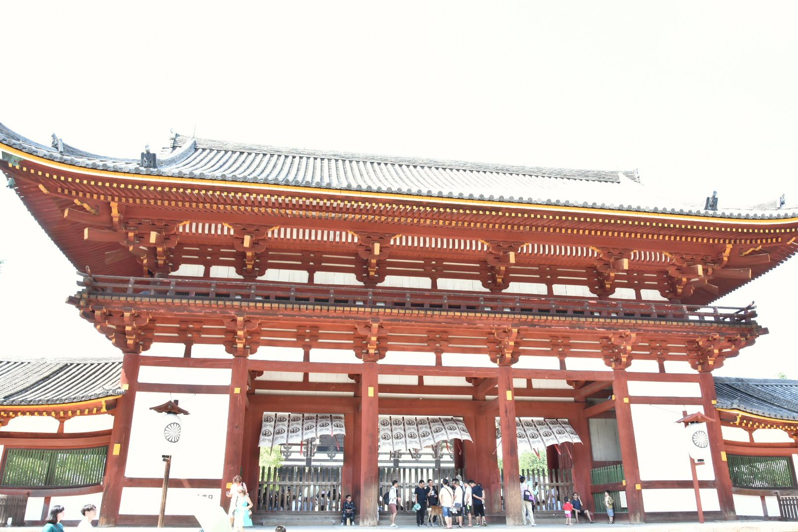 Nara - Todai-ji - porte principale