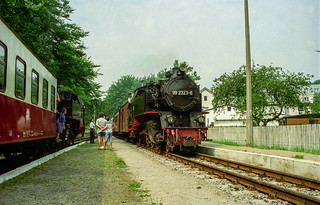 Steam locomotive Heiligendamm