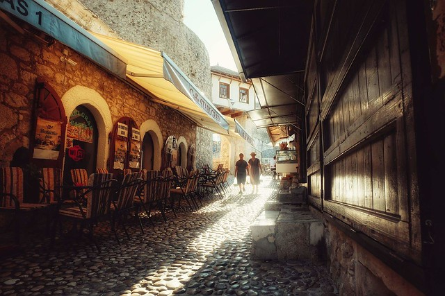Old city, Mostar