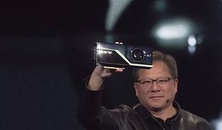NVIDIA CEO Jensen Huang announces the Quadro RTX GPU   by NVIDIA Corporation