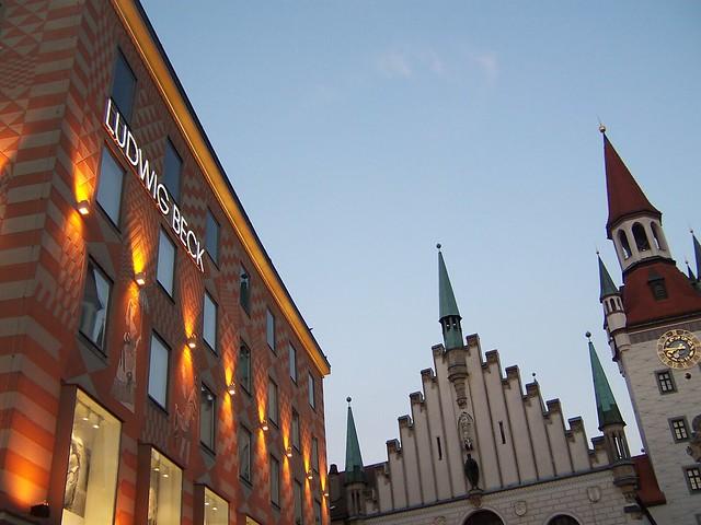Bavarian architecture, Munich