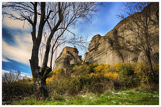 Monasterio de San Nicolás, Meteora, Grecia