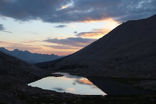 1258 Guitar Lake at sunset on the John Muir Trail   by _JFR_