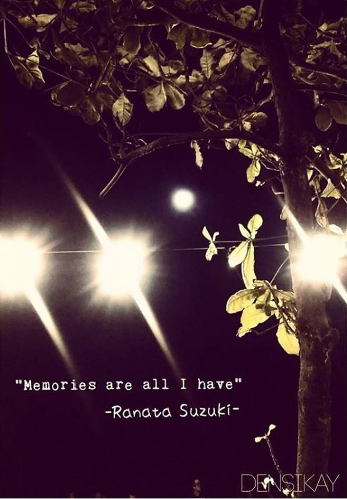 missing quotes memories are all i have ranata suzuki flickr