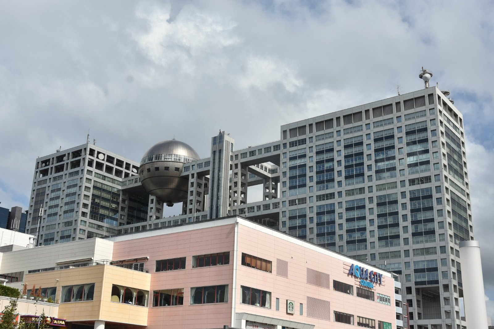 Odaiba - Fuji building