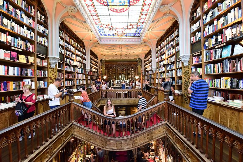 Livraria Lello, Porto, Portugal, August 2018 223