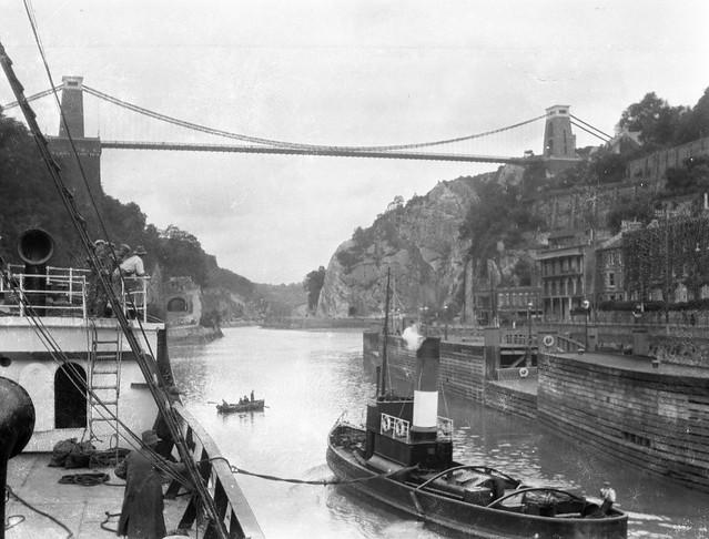 Hotwells, Bristol 1933 Clifton Suspension Bridge