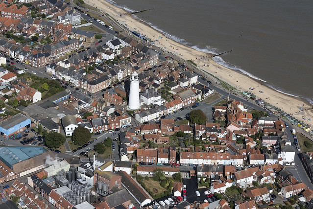 Southwold aerial image