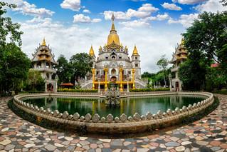 Panorama of Buu Long Pagoda in Ho Chi Minh City. A beautif… | Flickr