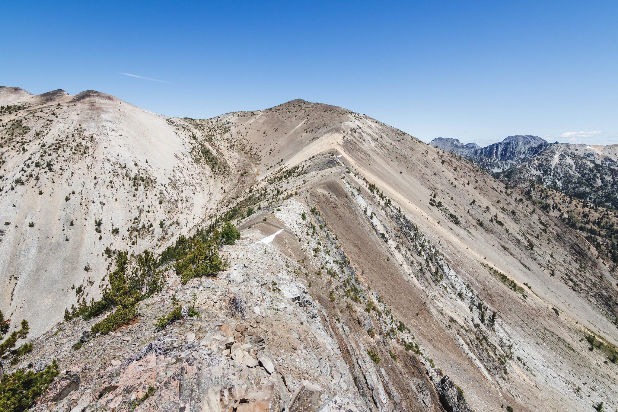 Sunrise Peak south ridge