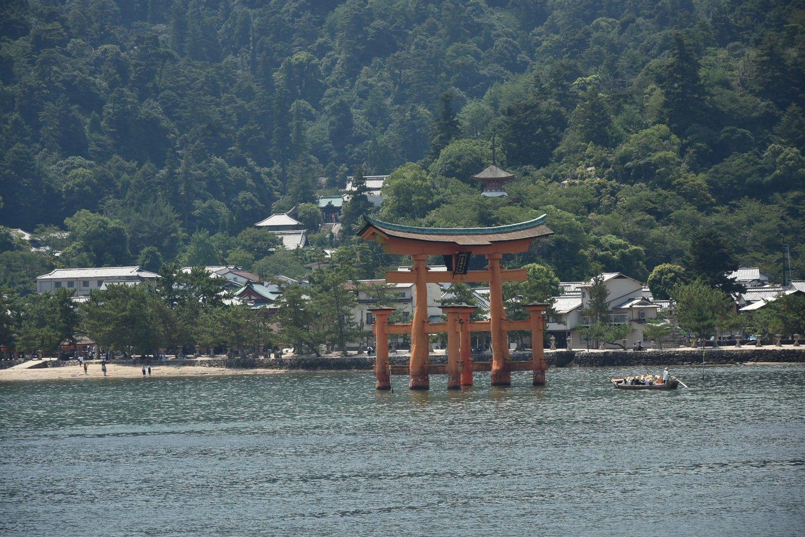 Miyajima - le torii