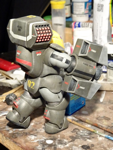 "Dorvack +++ 1:24 PAM-74 ""Tinkle Bell"" powered armor suit (Aoshima kit) - WiP 