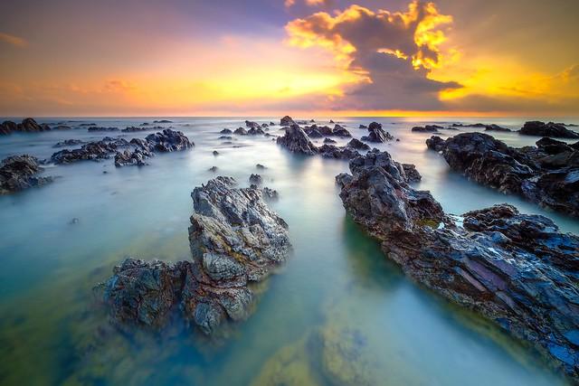 Sunrise at pantai Pandak Dalam, Terengganu