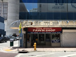 Vintage Pawn Shop Signage Exposed When Canopy Was Removed | by Phillip Pessar