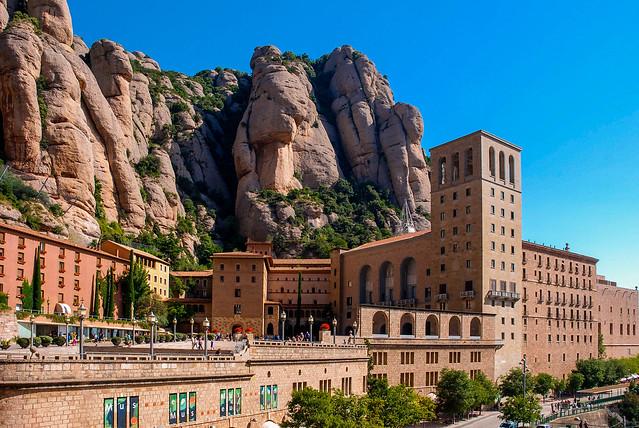 Montserrat Abbey (BCN), Catalonia