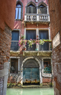 Typical house in Venice, Italy
