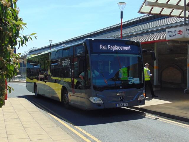 Blackpool Transport 557 (BG15 BTY)