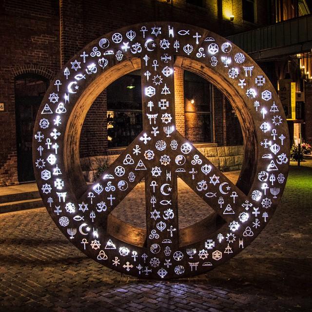 Peace, Distillery District, Toronto