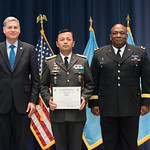 Vi, 07/27/2018 - 14:26 - On July 27, 2018, the William J. Perry Center for Hemispheric Defense Studies hosted a graduation ceremony for its 'Defense Policy and Complex Threats' and 'Cyber Policy Development' programs. The ceremony and reception took place in Lincoln Hall at Fort McNair in Washington, DC.