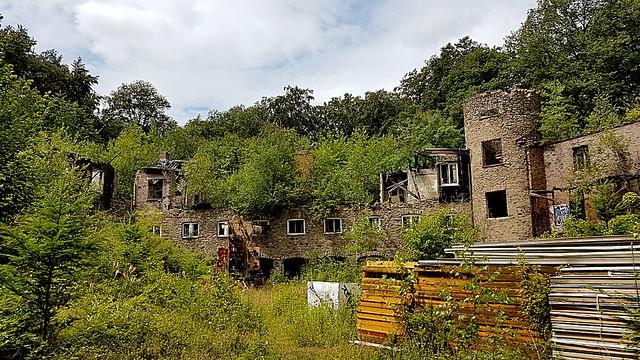Der verlassene Ort...