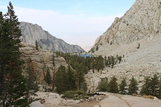 1846 Lone Pine Lake comes into view as we continue to descend on the Mount Whitney Trail | by _JFR_