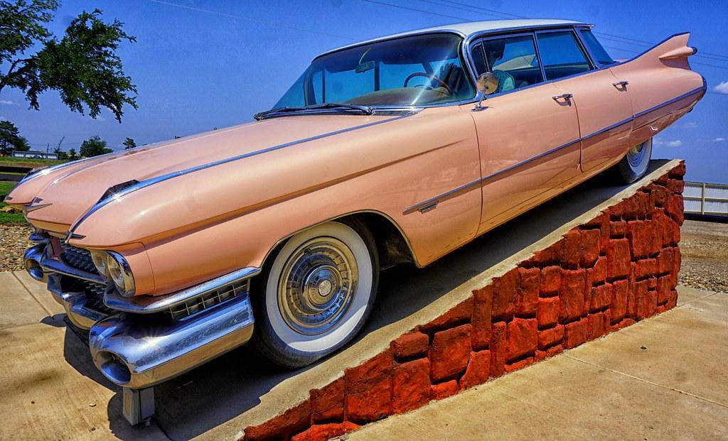 Pink Cadillac, Cadillac Ranch Gift Shop and RV Park, just