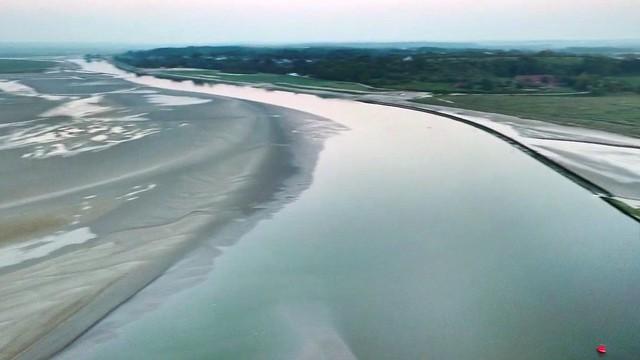 L'Estuaire de la Somme (côté St Valéry / Somme)
