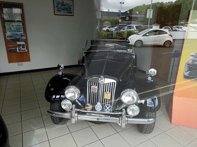 MG Sports Car, Rich Way, Brecon 2 August 2018