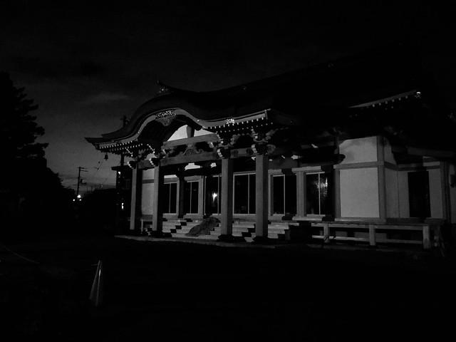 Dark Buddhist Temple in the Dark 2