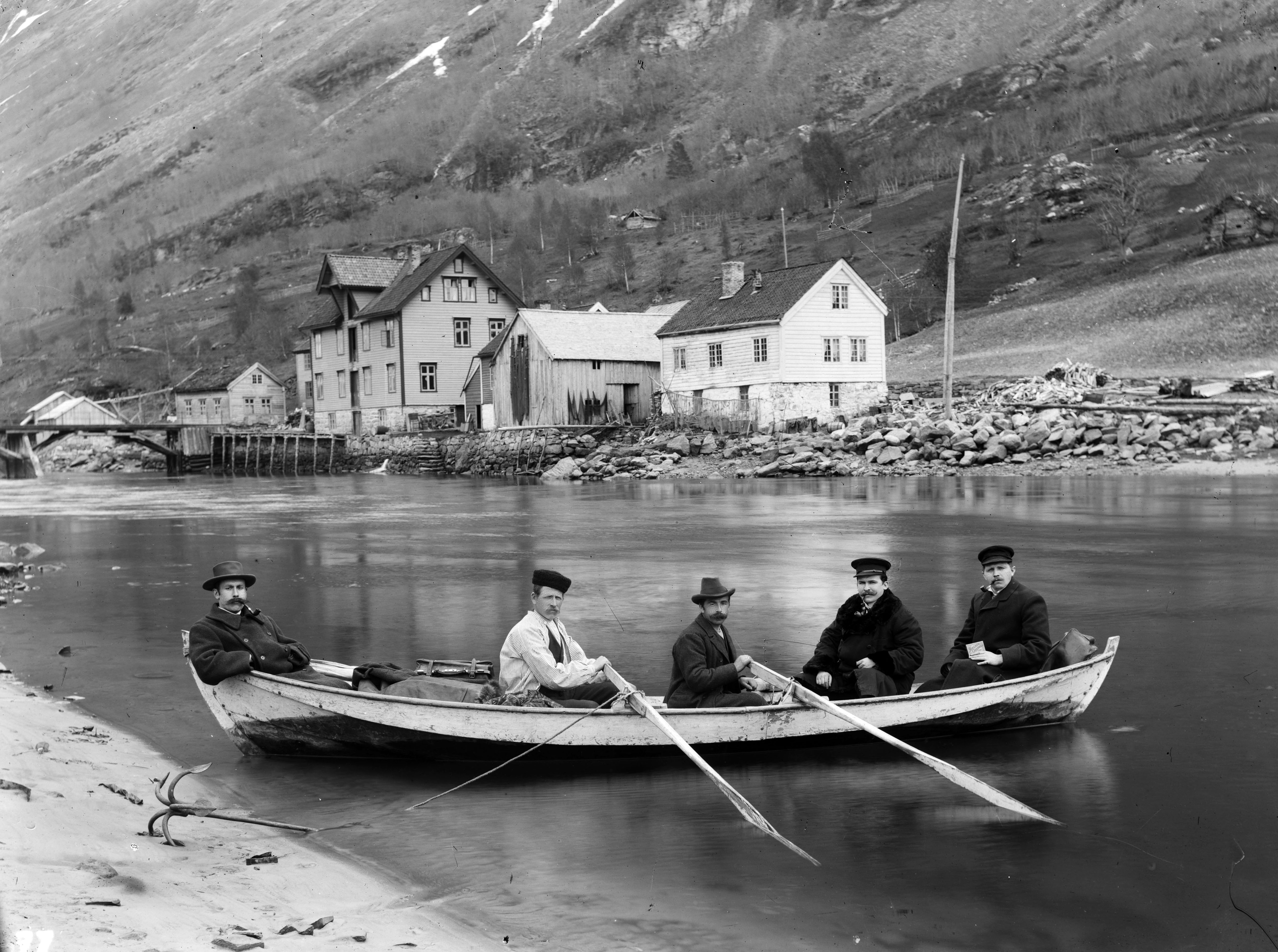 Bruragrenda, Stryn, ca. 1900.