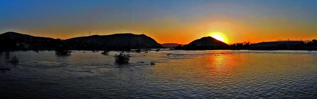 Orto Vespertino Reflejado en el Río Nazas/Evening Ortho Reflected on Nazas River (2).