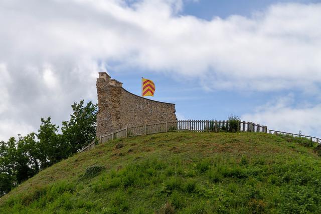 Clare castle remnant