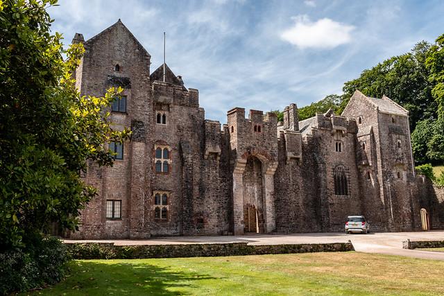 Compton Castle facade
