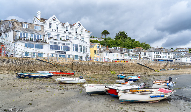 Low tide @ St. Mawes