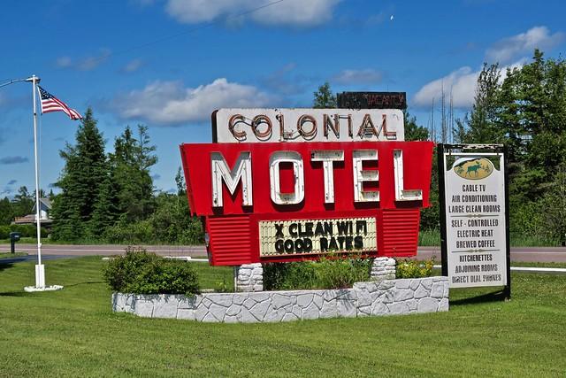 Colonial Motel, Manistique, MI