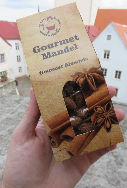 Old Town Tallinn Cinnamon Almonds (Tallinn, Estonia)