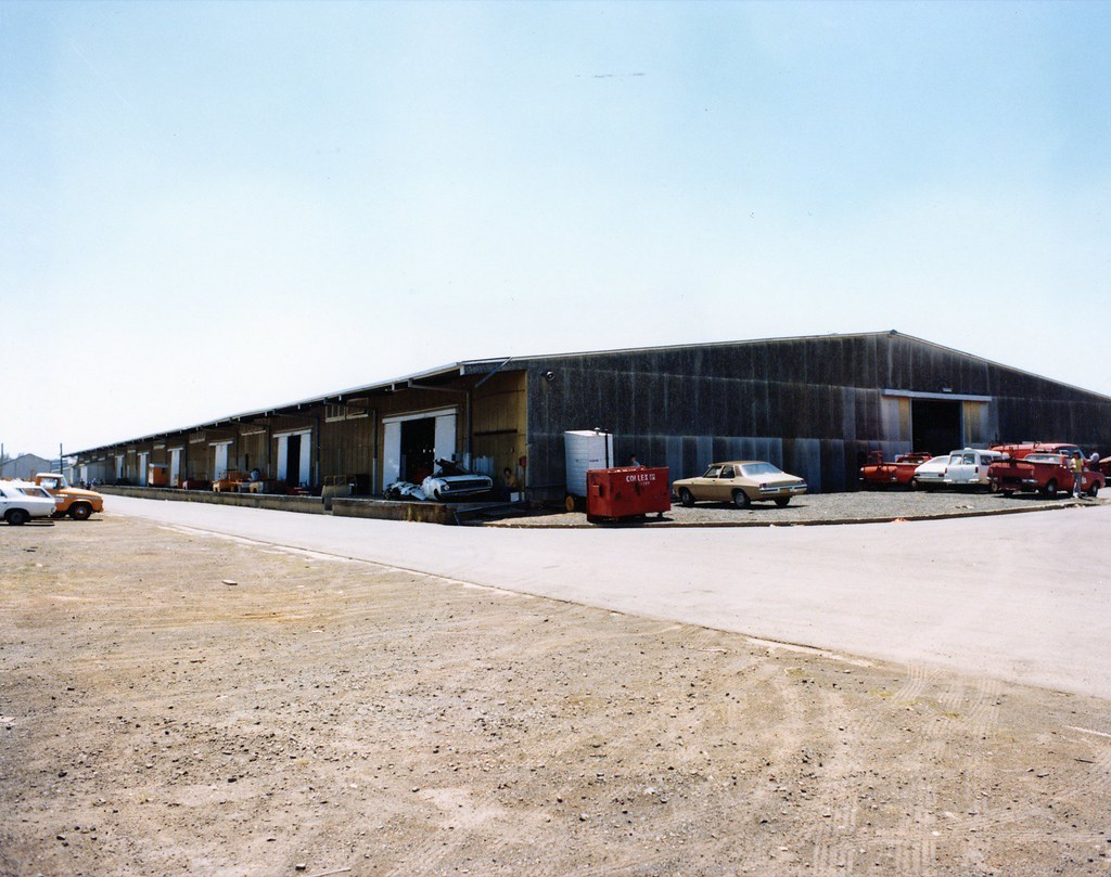 Telecom Automotive Plant Wharehouse Villawood NSW 1976  8