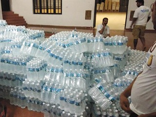 Water bottles | by Akshayapatra