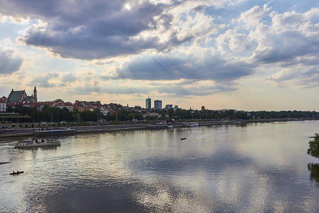 Old Town from Poniatowski Bridge