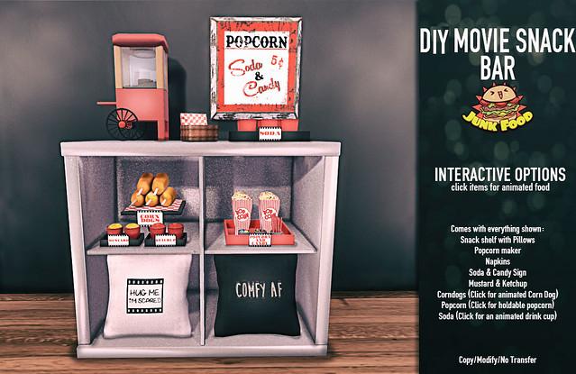 Junk Food - DIY Movie Snackbar
