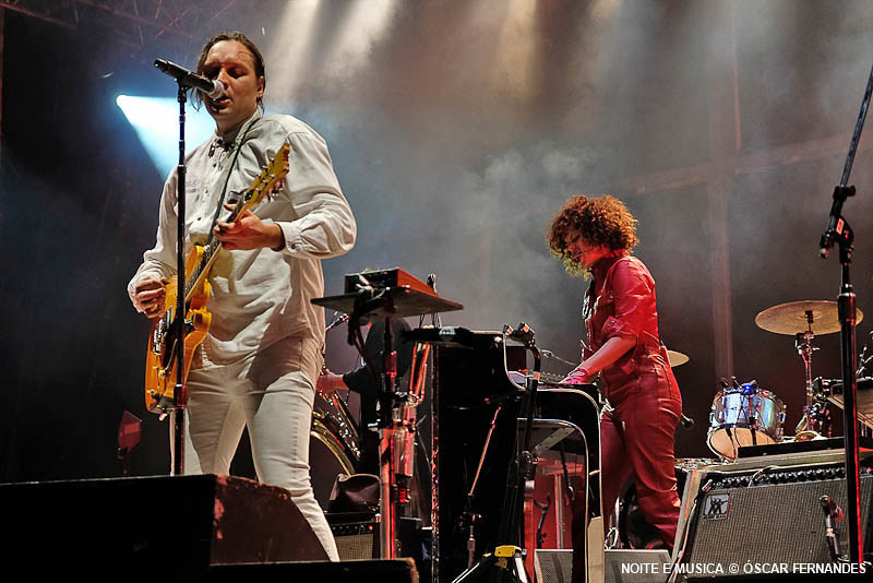 Arcade Fire - Vodafone Paredes de Coura 2018