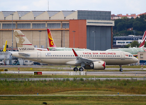 F-WWIN Airbus A320 Néo Vistara / Tata SIA Airlines | by @Eurospot