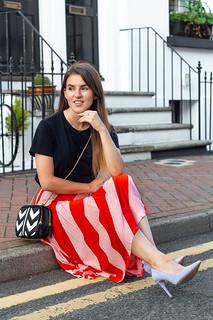 pink stripe midi skirt-19 | by robyncaitlin