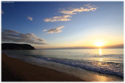 alba sunrise numana marche italy italia ancona acqua water sea mare canon eos7d eos 7d conero marcelli