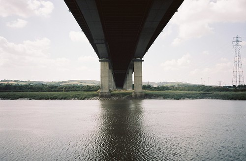 Under the M5, looking at where we'd been | by knautia