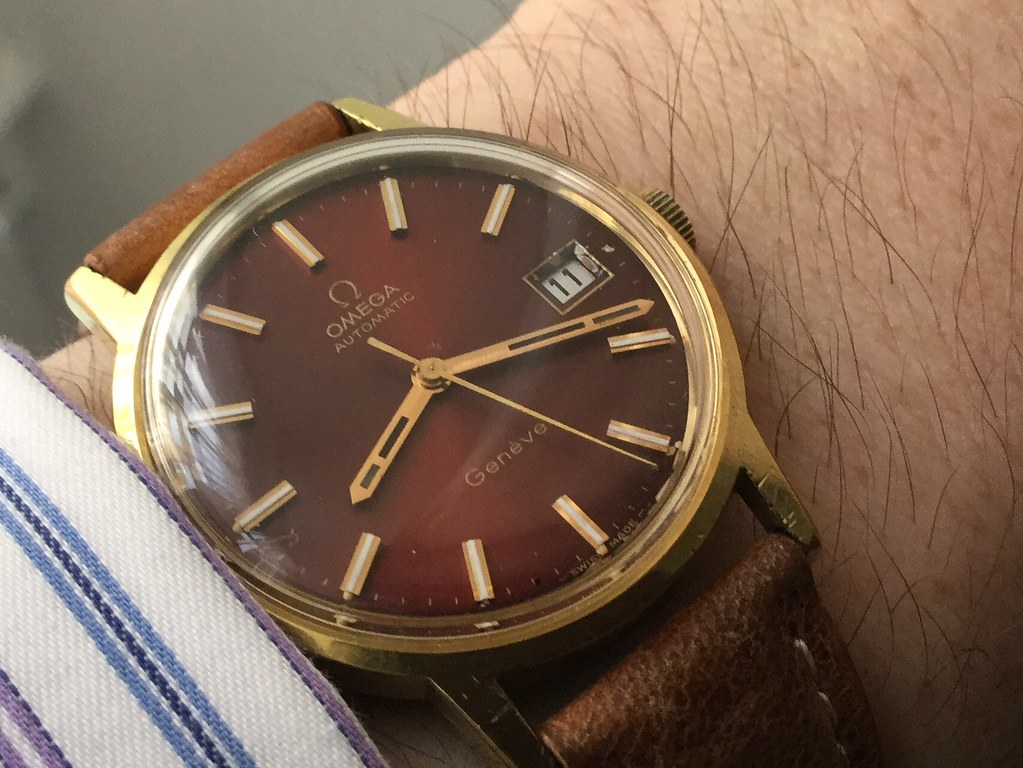 Omega Geneve from 1973 calibre 1012