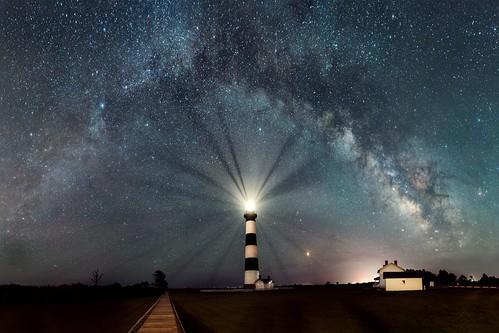 milkyway bodieisland bodieislandlighthouse obx outerbanks nikond750 sigma20mmart astrophotography 56yyyyyy