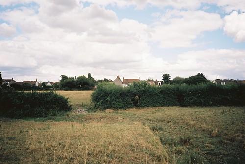 Dried stream that should become Brislington Brook | by knautia