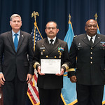 Fri, 07/27/2018 - 14:29 - On July 27, 2018, the William J. Perry Center for Hemispheric Defense Studies hosted a graduation ceremony for its 'Defense Policy and Complex Threats' and 'Cyber Policy Development' programs. The ceremony and reception took place in Lincoln Hall at Fort McNair in Washington, DC.