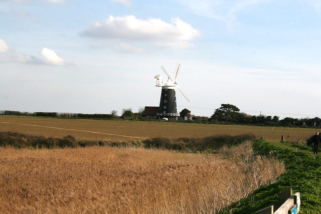 Windmill at Burnham Overy Staithe, Norfolk